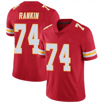 Men's Kansas City Chiefs Martinas Rankin Red Limited Team Color Vapor Untouchable Jersey By Nike