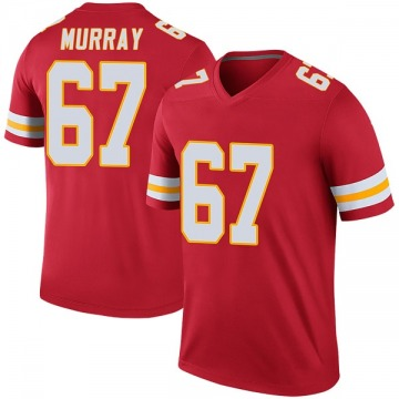 Youth Kansas City Chiefs Jimmy Murray Red Legend Color Rush Jersey By Nike